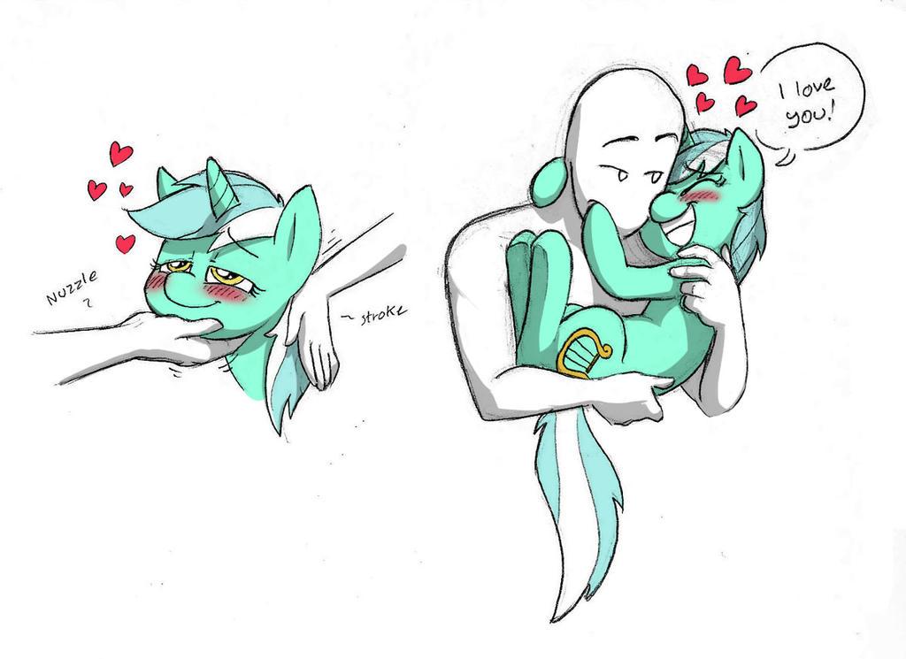 oh hai Lyra by Mickeymonster