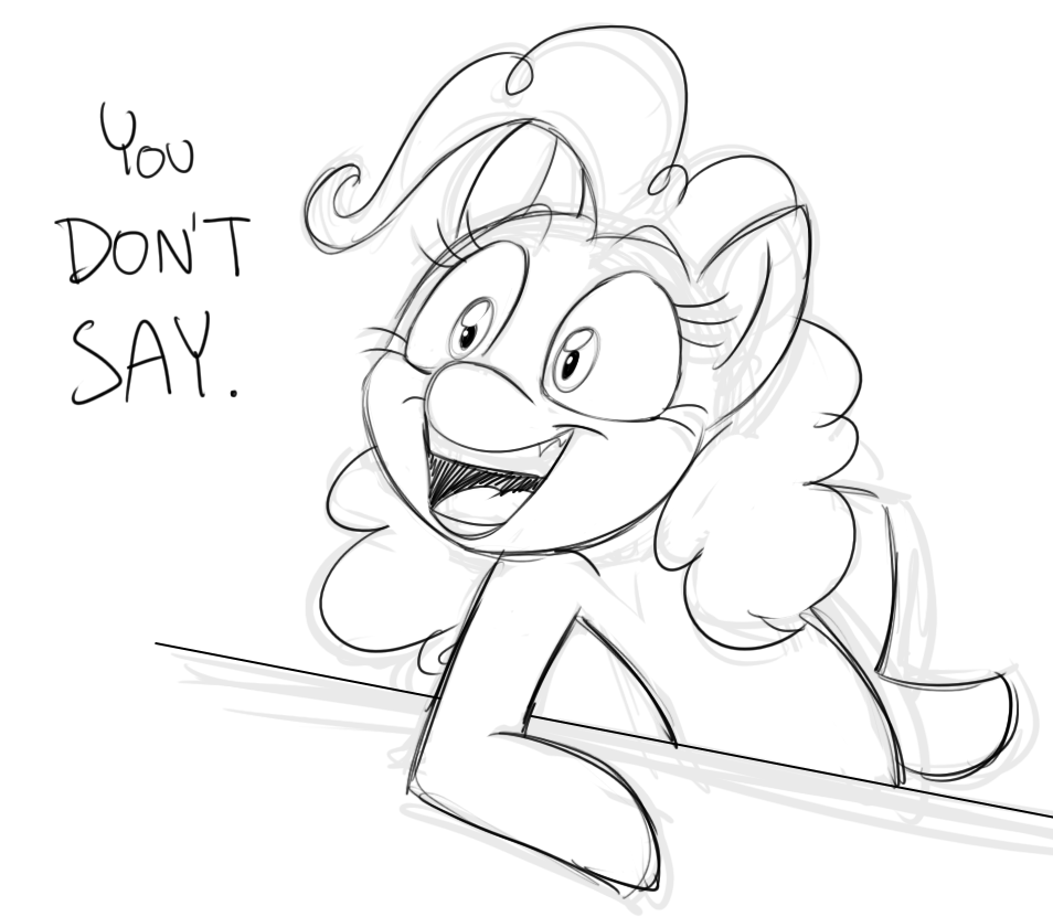 Pinkie Response by Mickeymonster
