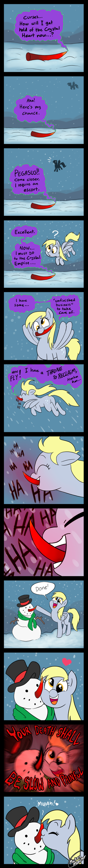 A Cold Return by Mickeymonster