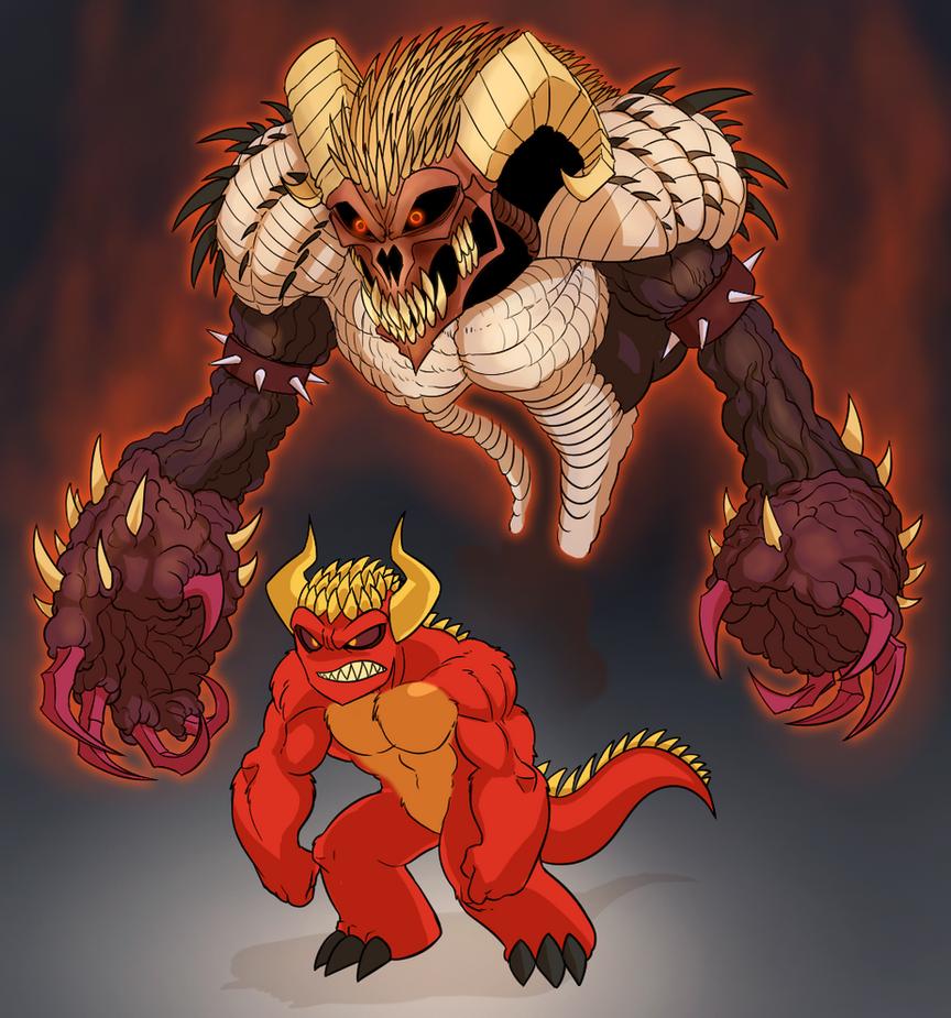 Devil's Stand by Mickeymonster