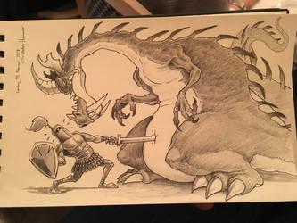 Poke The Dragon by Mickeymonster