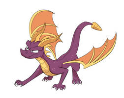 Purple Game Dragon