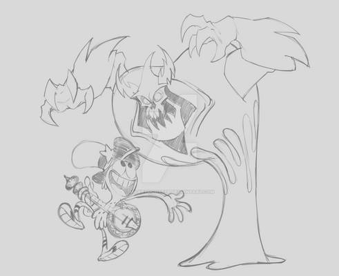 Lord Hater and Wander WIP
