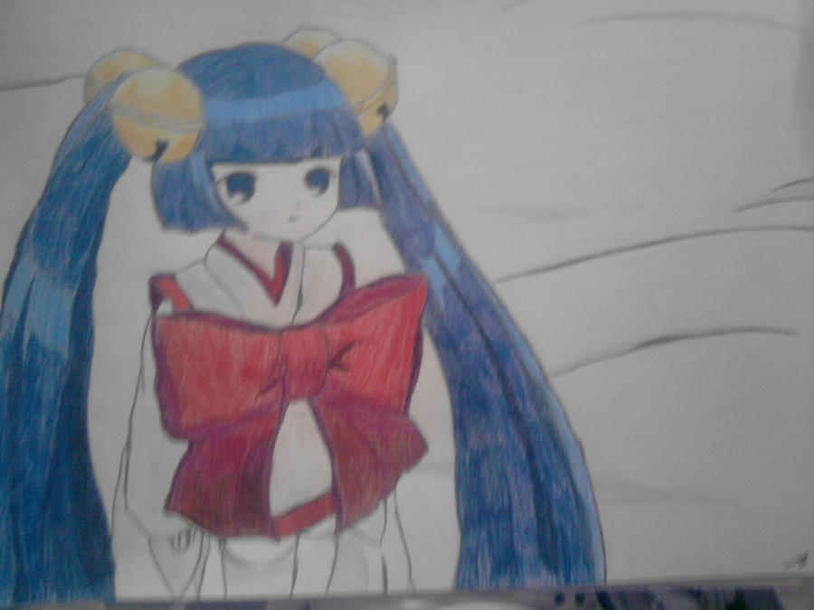 Kotoko Persocom Chobits Drawing By Mogwai96