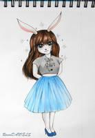 White Rabbit by RavenDANIELS