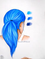 Hair Study (with tutorial) by RavenDANIELS