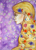 Rapunzel by RavenDANIELS