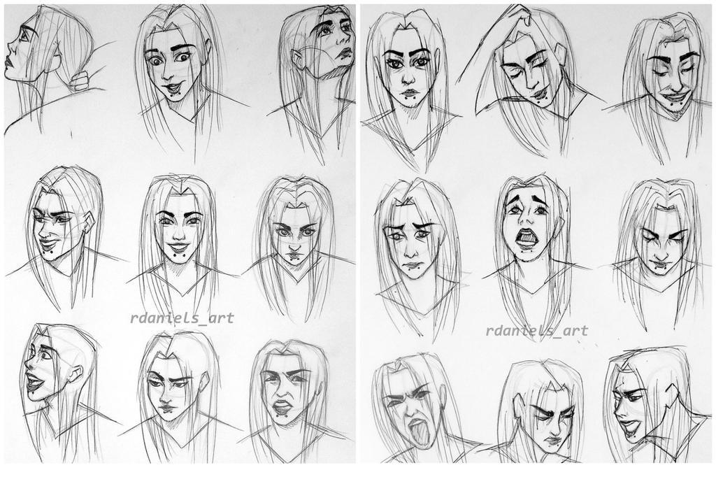 Facial Expression Study 87