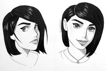 mah face, Ghibli style