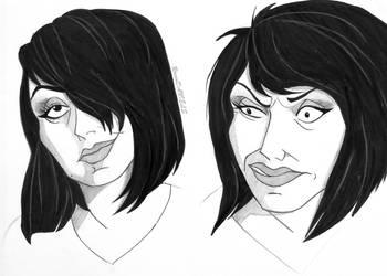 mah face, Disney villain style