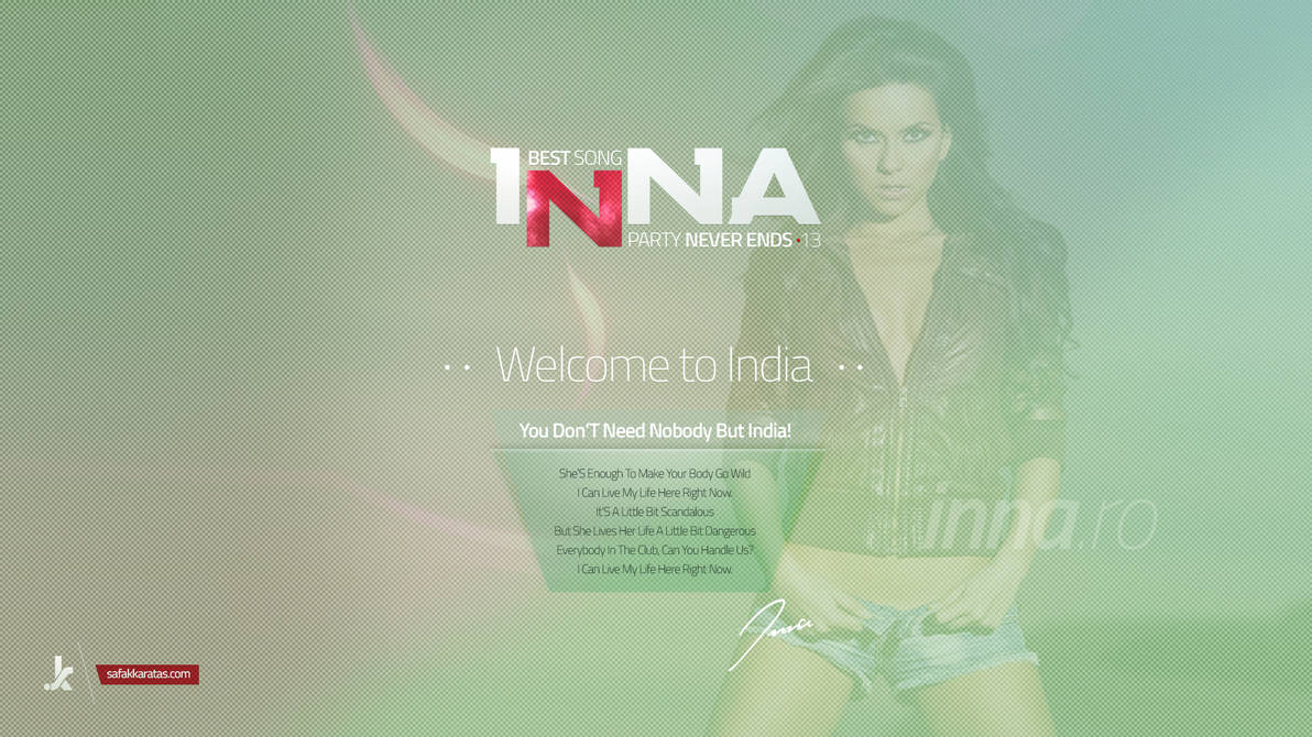welcome to india song inna