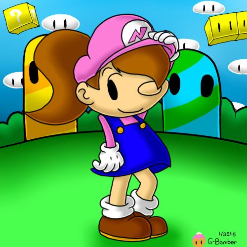 Plumber Girl Nanna by G-Bomber