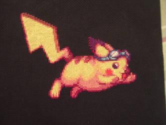 SSBB Pikachu by Magairlin89