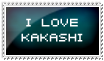 I love Kakashi by tel-yuu