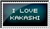 I love Kakashi by tel-yuu
