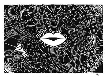 Black and white No 6 by ravart