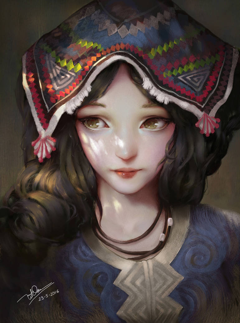girl 1 by letrongdao