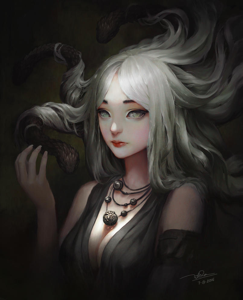 Medusa by letrongdao
