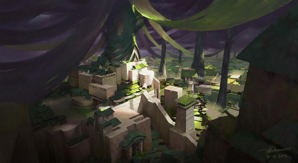 secret village by letrongdao