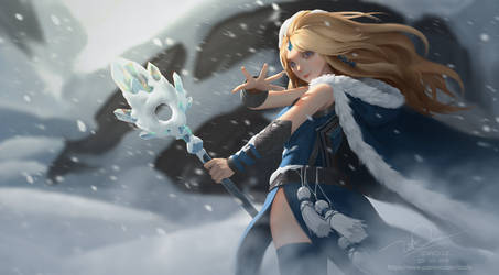 Crystal Maiden by letrongdao