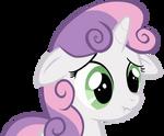 Sweetie Belle Scrunchy Face