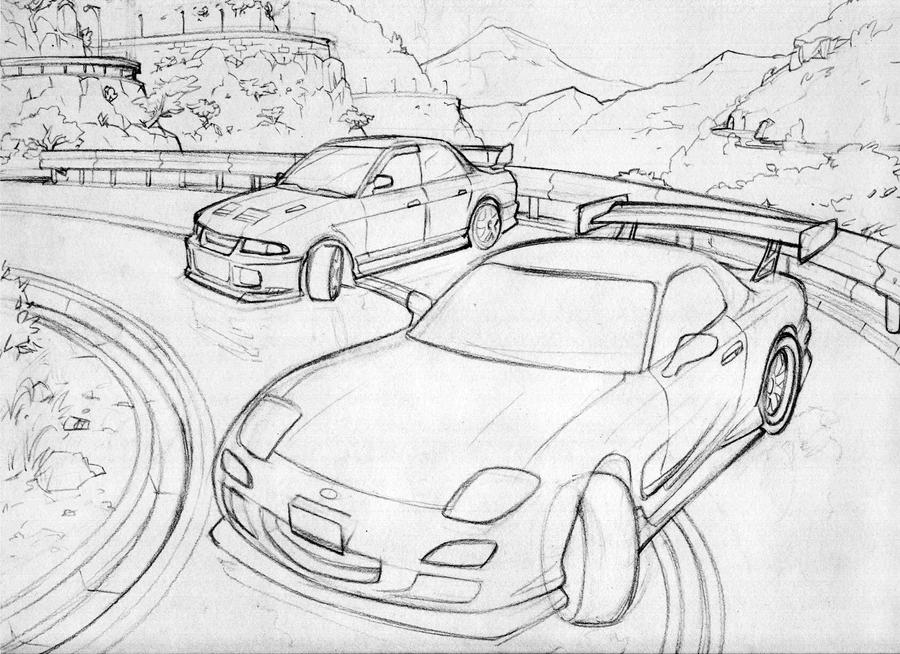 Minimalist 12a Wiring 935875 besides 1920x1200 moreover Bmw 320i Turbo Group 5 also Audi R8 2008 likewise 10 Best Fast And Furious Cars. on mazda rx 7 drawing