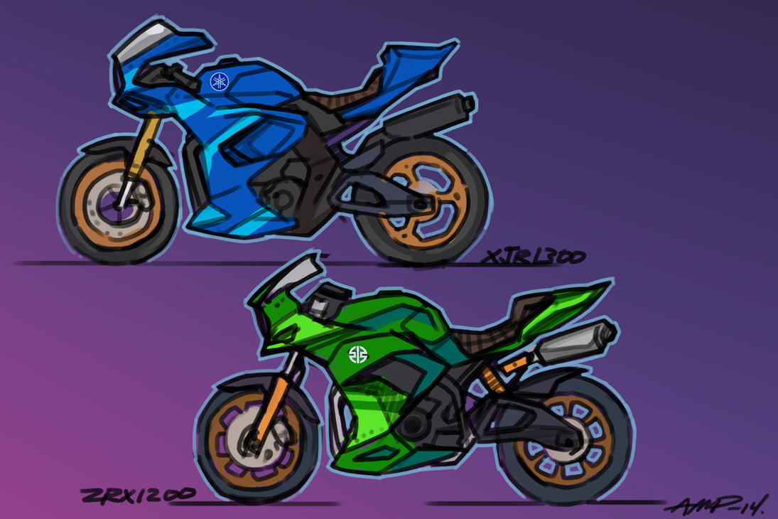 Japanese Bikes  Concept by WriteNRun