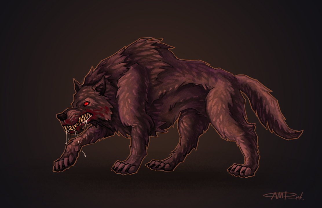 Big Bad Wolf concept art by WriteNRun