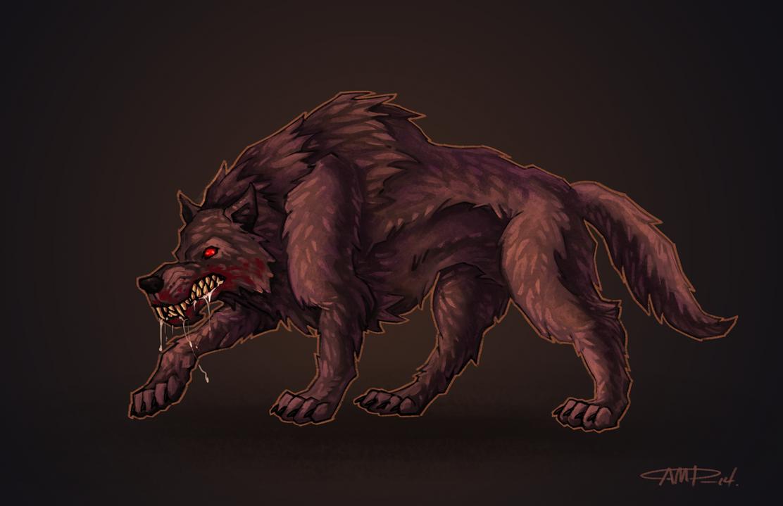Big Bad Wolf concept art by WriteNRun