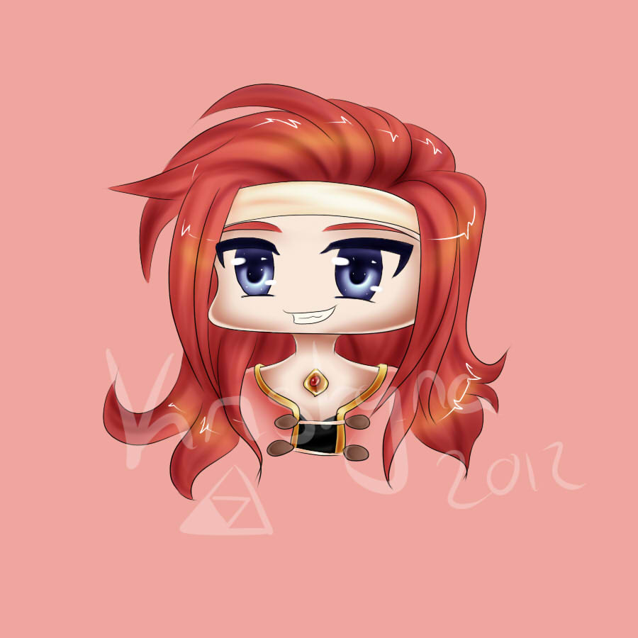 Chibi Zelos by RiverTyna