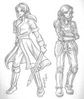 Myrmidon and Soldier