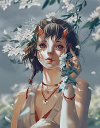 Flower Demon by Windami