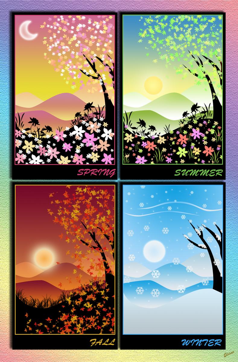 Seasons by el3sar
