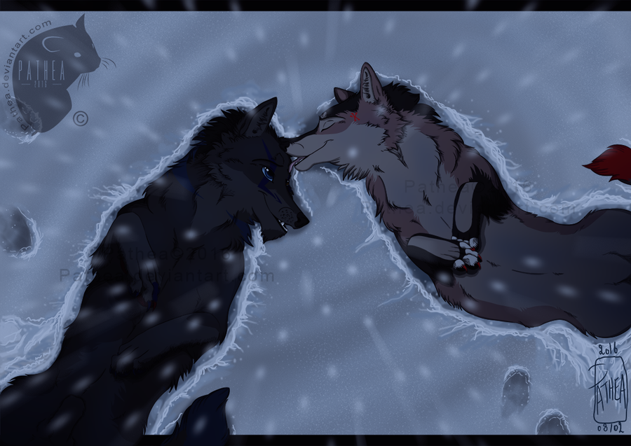 .:: LYING IN THE SNOW ::. by Pathea