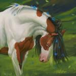 horse art by PEGAYA