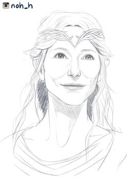 Galadriel Lady of Lothlorien