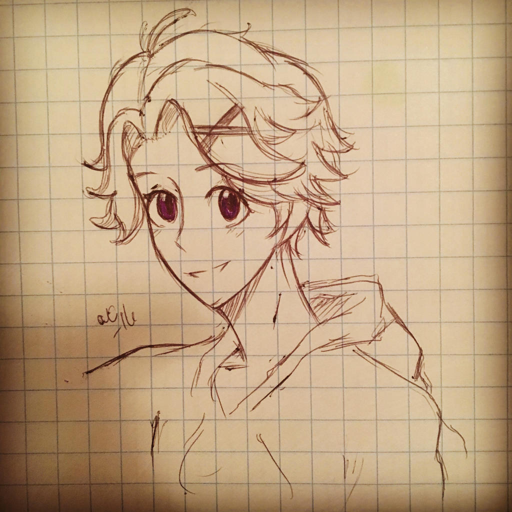Inktober Day 26 Yoosung  by Ailizerbee08