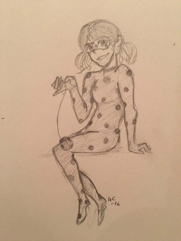 Ladybug ( Miraculous Ladybug)  by Ailizerbee08