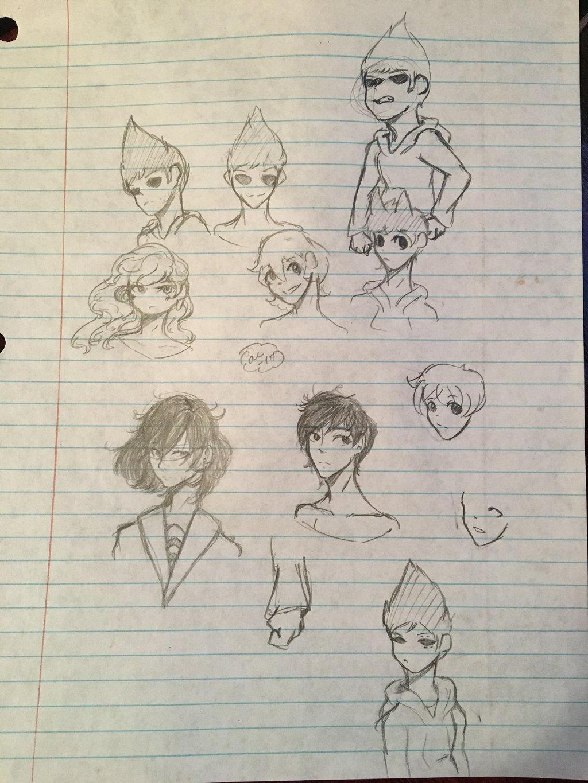 Doodle Dump by Ailizerbee08