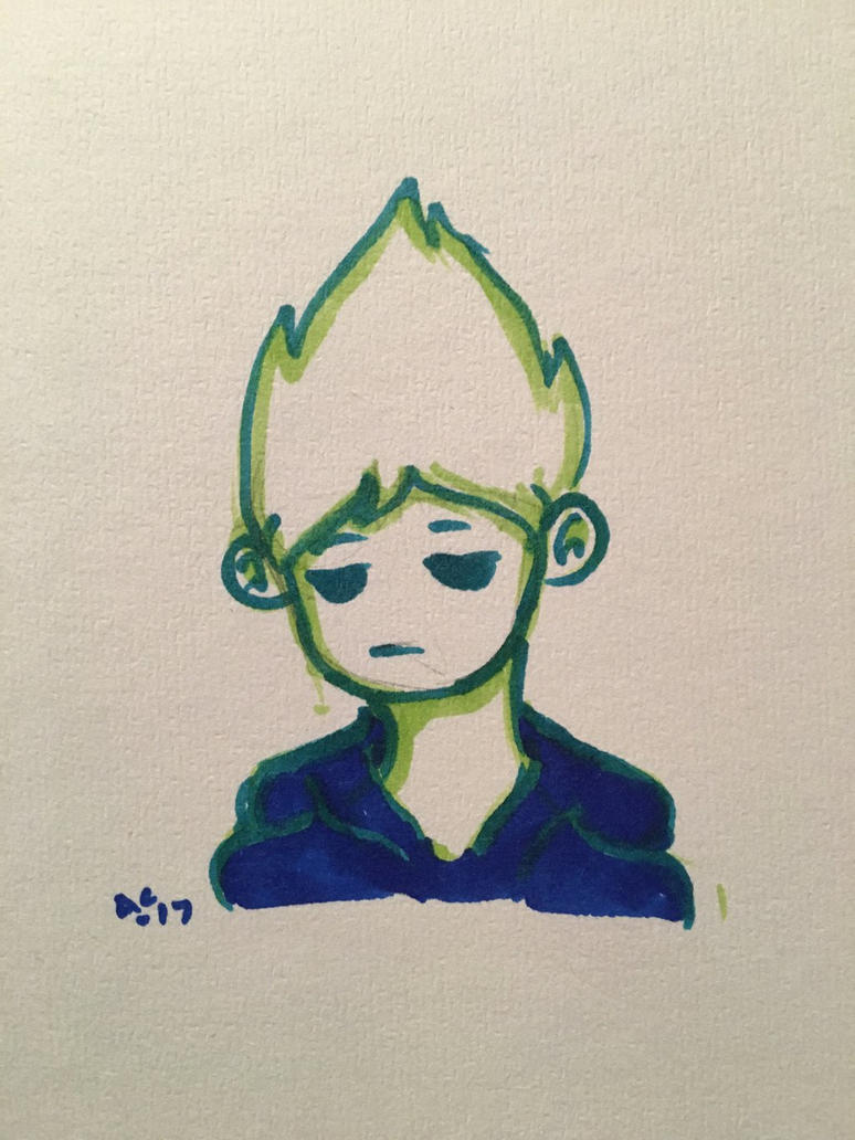 3 marker challenge (Tom)  by Ailizerbee08