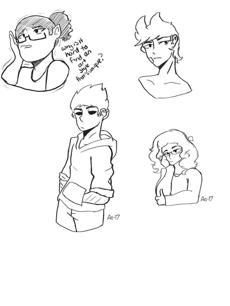 Doodles  by Ailizerbee08