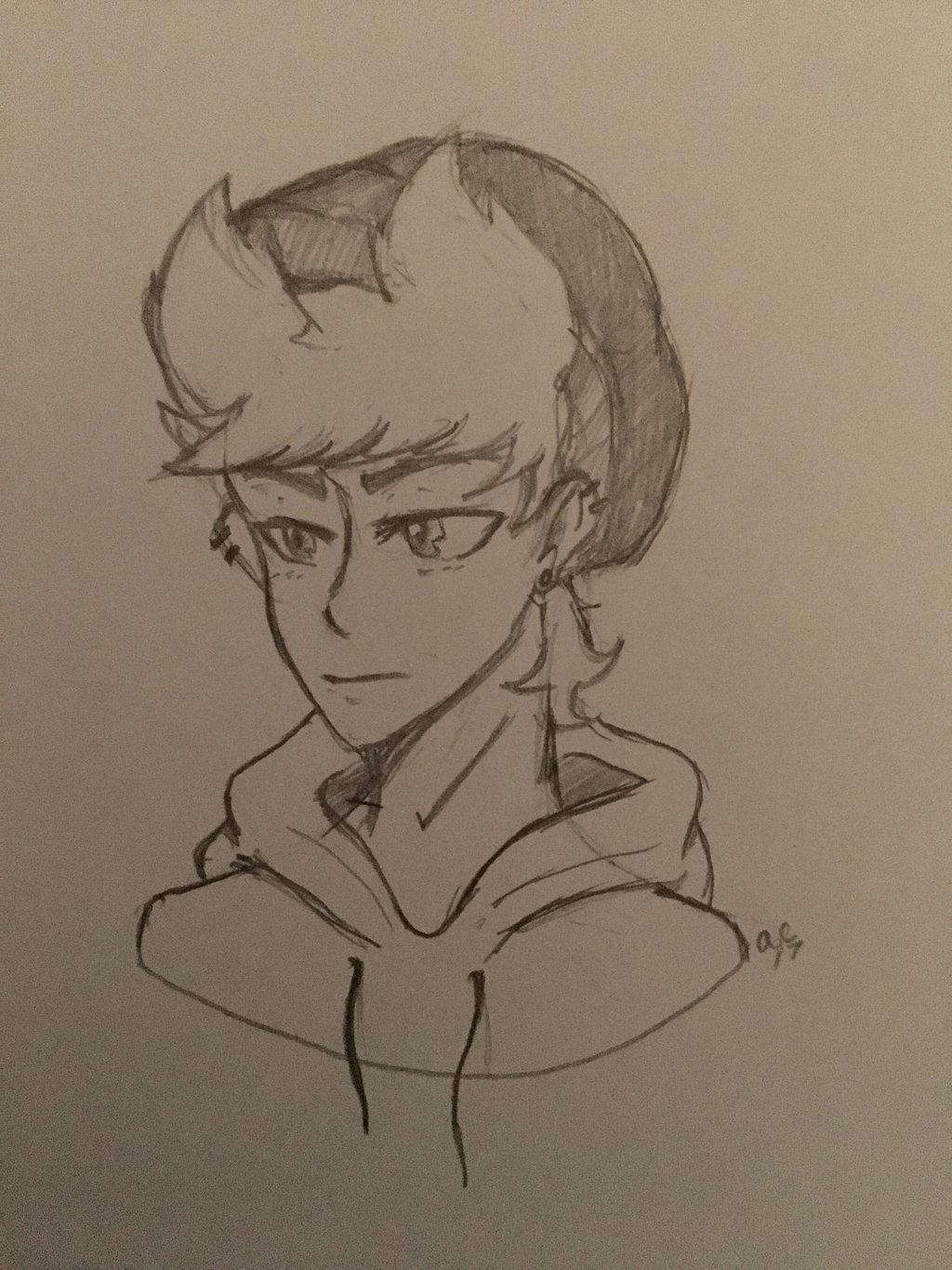 Tord with a Beanie  by Ailizerbee08