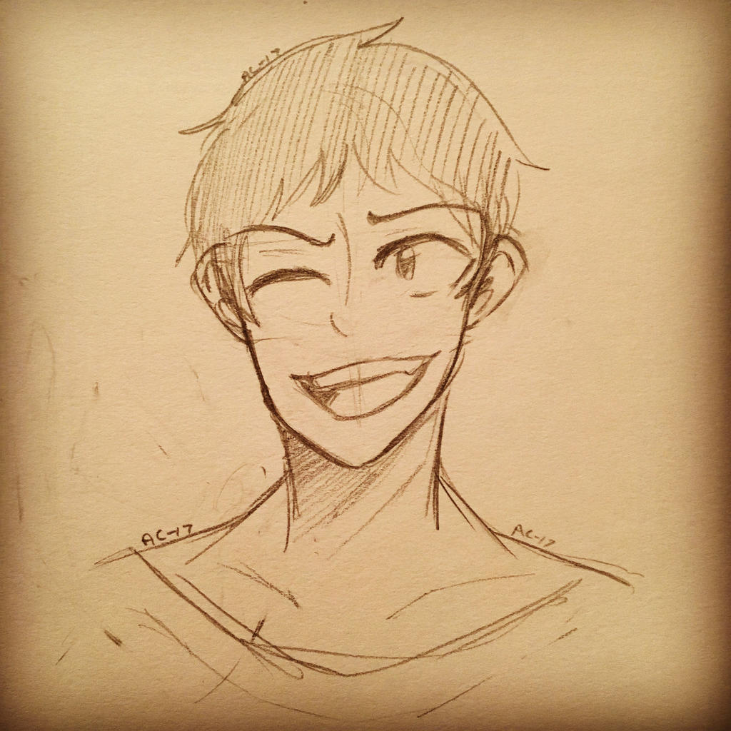 Lance Sketch  by Ailizerbee08
