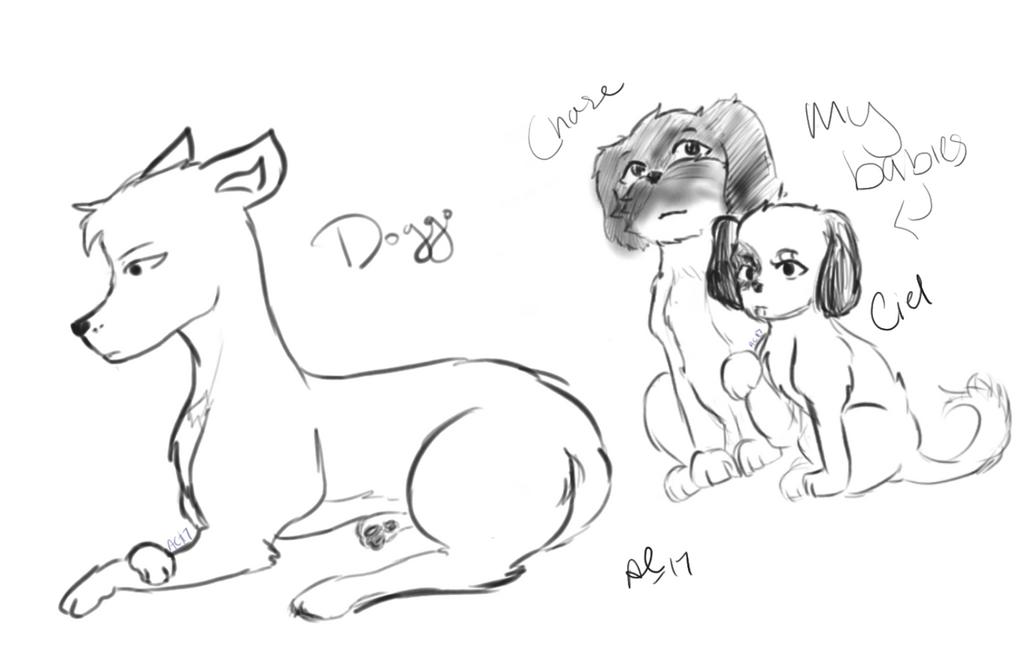 Doggies by Ailizerbee08
