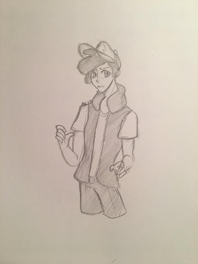 Dipper Pines Doodle  by Ailizerbee08