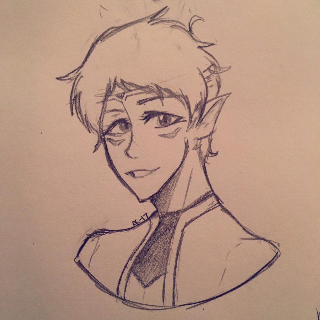 Altean Lance  by Ailizerbee08