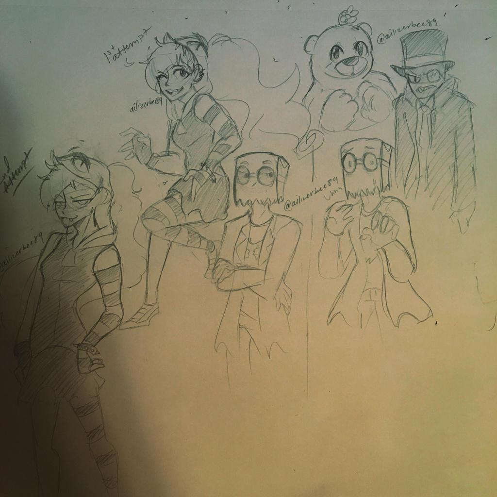 Villianous Doodles Dump by Ailizerbee08