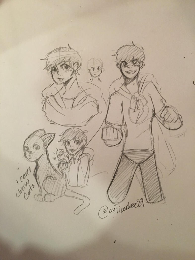 Edd doodles  by Ailizerbee08