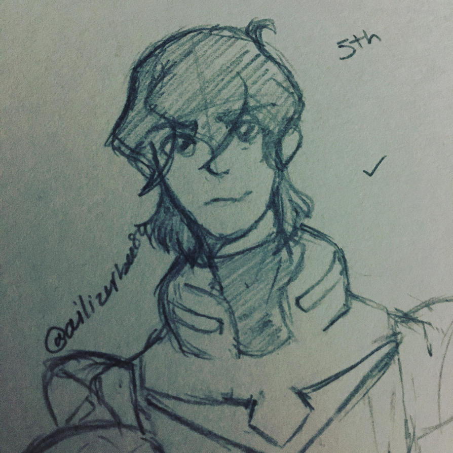 Keith doodle  by Ailizerbee08