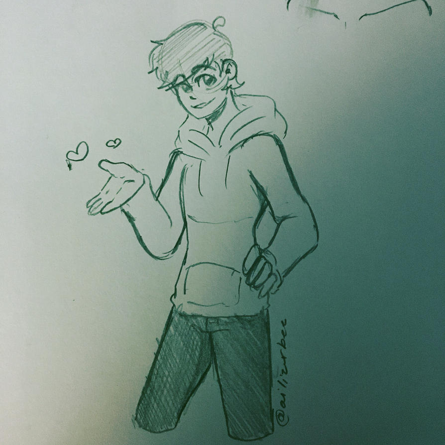 Late Night Edd Doodle  by Ailizerbee08